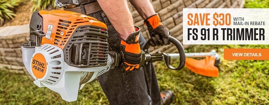 $30 Mail-In Rebate with FS 91 R Trimmer purchase